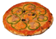IMPÉRATRICE: Tomate, Poivron, thon, fromage, olives. - Prix 10.50€